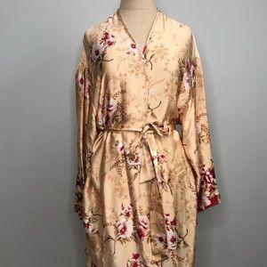 Vintage Victoria's Secret silk robe